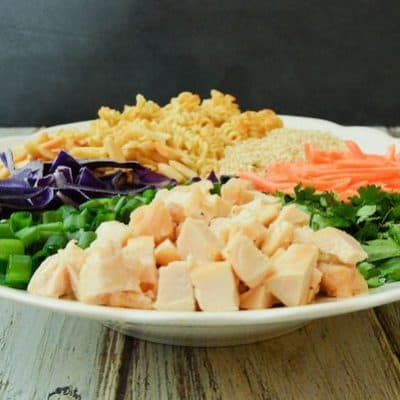 Quick Asian Crunchy Chicken Salad Recipe – A One Bowl Meal