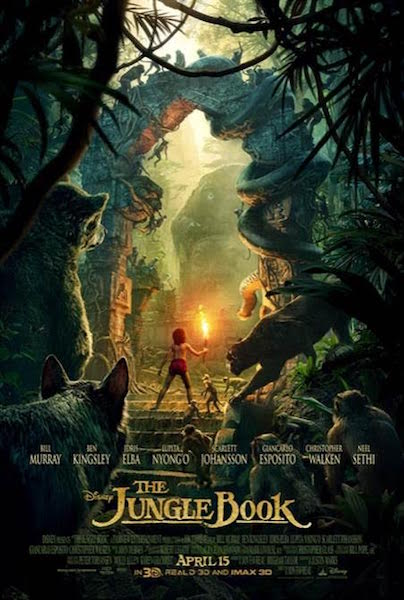 the jungle book new poster