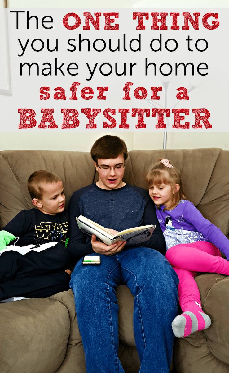 make home safer for babysitter