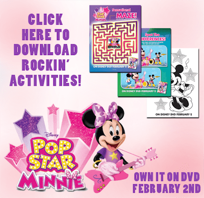 free minnie mouse coloring pages