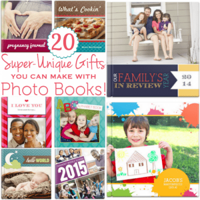 20 Unique Gift Ideas that Can Be Made With Photo Books