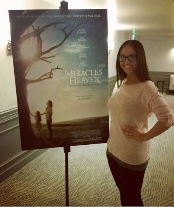 Miracles from Heaven Interview Day