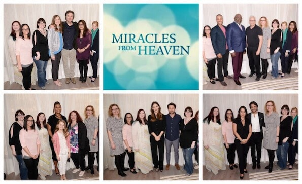 Miracles from Heaven Roundtables