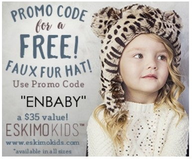 FREE Faux Fur Hat from Eskimo Kids! ($35 value)