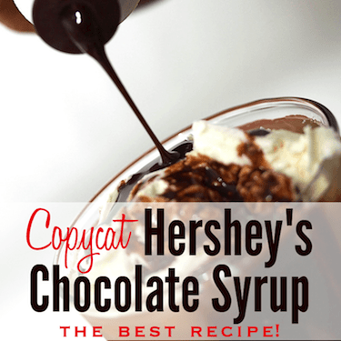 homemade hershey's chocolate syrup recipe