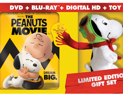 THE PEANUTS MOVIE now on Blu-Ray and DVD + Giveaway! #PEANUTSInsiders