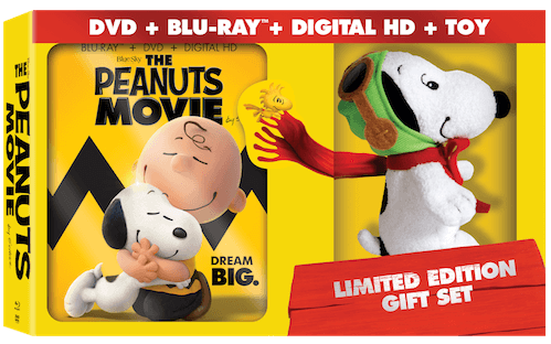 Peanuts movie blu ray