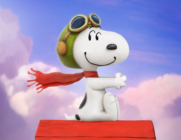 the peanuts movie snoopy flying ace