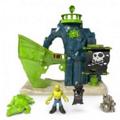 Save 51% on the Fisher-Price Imaginext Ghost Pirate Island, Free Shipping Eligible!