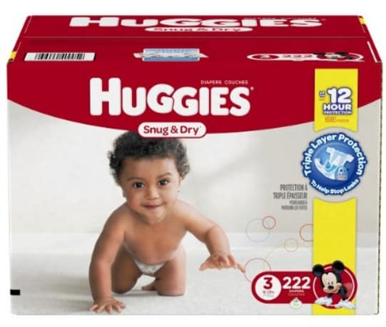 image relating to Printable Huggie Coupons known as Fresh new Huggies, Pampers Printable Coupon codes: Diapers for $4 for each