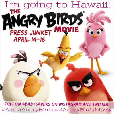 I'm Going to Hawaii for the Angry Birds Movie Press Junket!