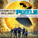 The Classic Arcade Games of PIXELS from the Press Junket