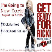 A Rock Star Evening at The RICKI AND THE FLASH Press Junket