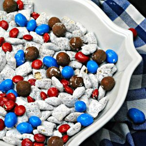 Captain America Snack Mix Recipe – A Great Marvel Party Food! #InfinityWar