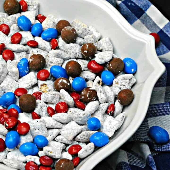 Captain America snack mix recipe