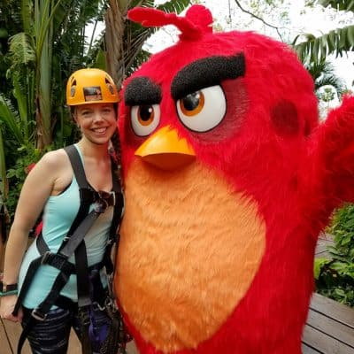 Soaring Like an Angry Bird and Ziplining in Maui for The Angry Birds Movie!