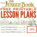 THE JUNGLE BOOK Lesson Plans: Free Disney Printables for Teachers, Parents