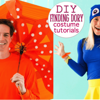 DIY Tutorials for Finding Dory Costumes