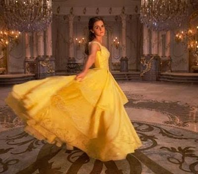 emma watson yellow dress beauty in the beast belle