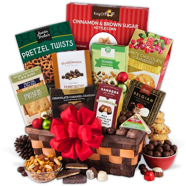Christmas Gift Basket Classic - A Last Minute Gift That Can Still Be ...