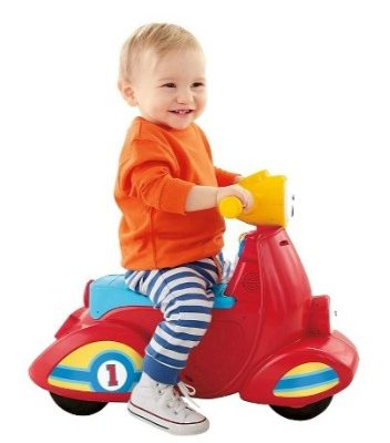 Target Online Deal: Save 50% off Fisher-Price Laugh & Learn Smart Stages Scooter!