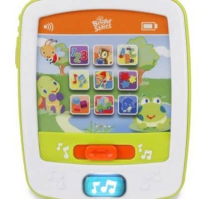 Bright Starts Lights & Sounds Funpad Musical Toy just $5.88, Free Shipping Eligible! {Great Easter Basket Item for Little Ones!}