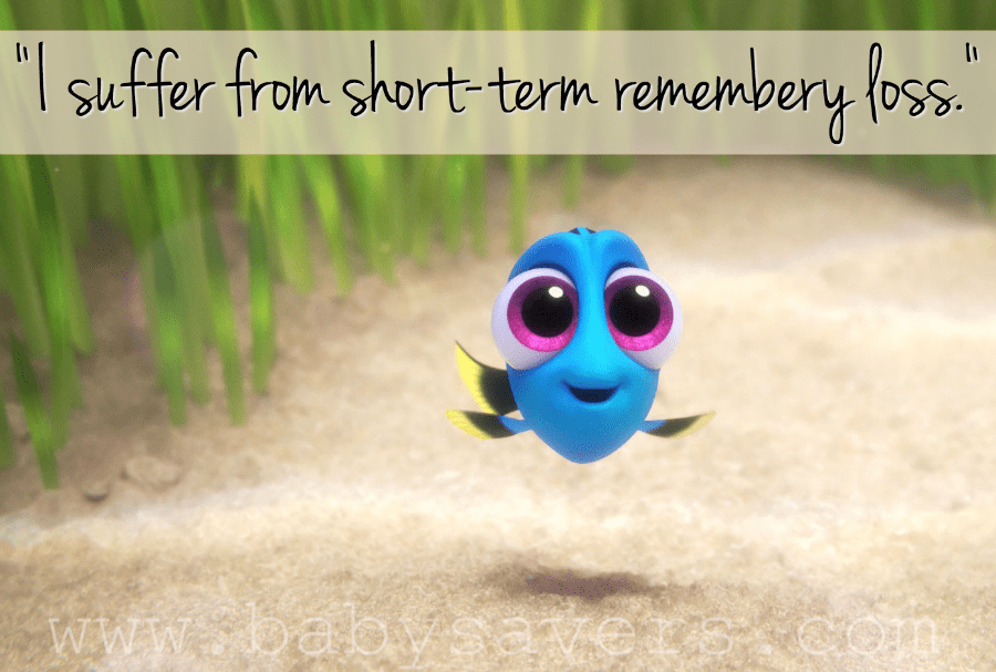 short term remembery loss quote