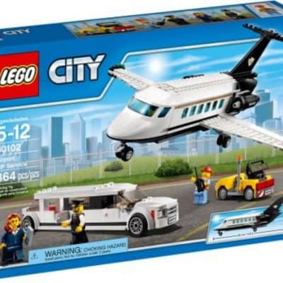 Save 40% off LEGO City Airport Airport VIP Service Building Set, Free Shipping Eligible!