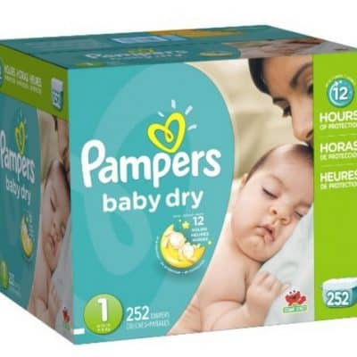 Amazon Diaper Coupon: Extra $2 off Pampers Diapers, Free Shipping Eligible!