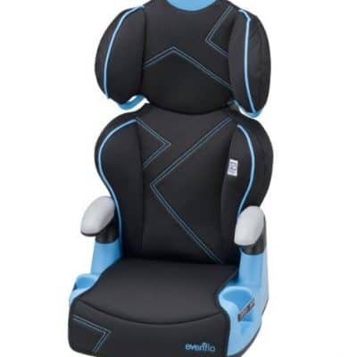Evenflo AMP High Back Car Seat Booster only $24.88, Free Shipping Eligible!