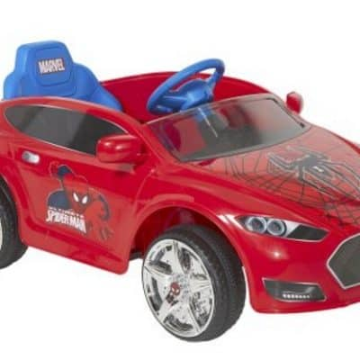 Save 54% on the Spider-Man 6V Speed Electric Battery-Powered Coupe Ride-On, Free Shipping Eligible!