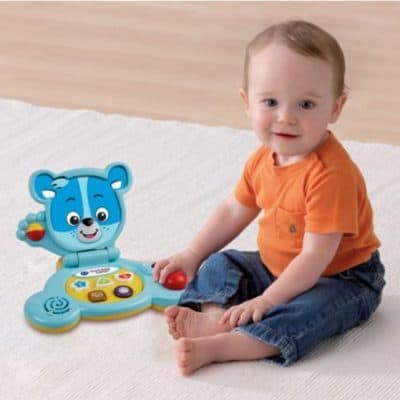 Save 44% on the VTech Bear's Baby Laptop, Free Shipping Eligible!