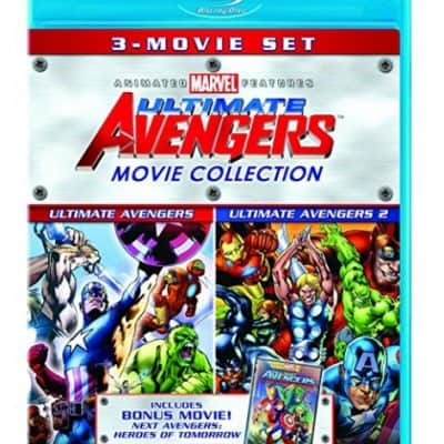 Ultimate Avengers Movie Collection [Blu-ray] only $6.96, Free Shipping Eligible!