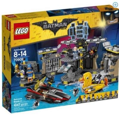 Save 30% on the LEGO Batman Movie Batcave Break-in, Free Shipping Eligible!