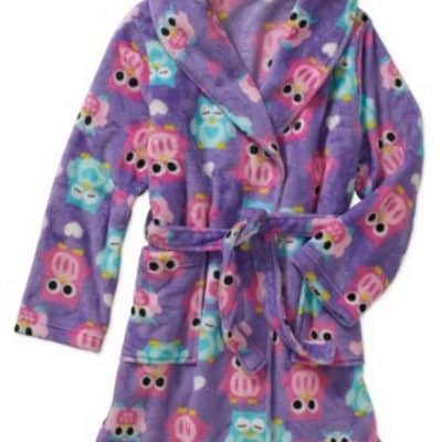 Girls Plush Robe only $5, Free Shipping Eligible!