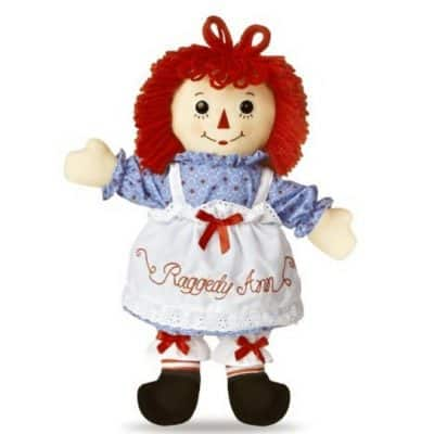 Save 33% on the Raggedy Ann Classic Doll 16″, Free Shipping Eligible!