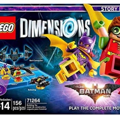 Save 40% with PreOrder of LEGO Batman Movie Story Pack for LEGO Dimensions, Free Shipping Eligible!