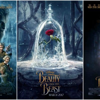 all beauty and the beast movie posters