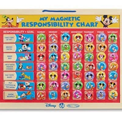 Save 37% on the Melissa & Doug Disney Mickey Mouse Clubhouse My Magnetic Responsibility Chart, Free Shipping Eligible!