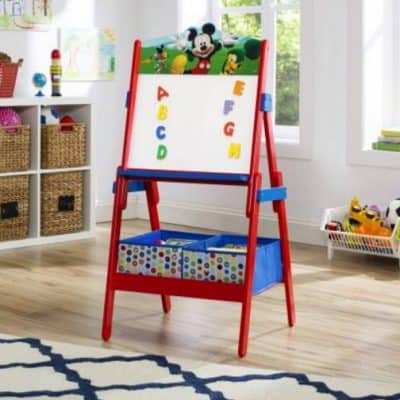 Save 25% on the Delta Children Mickey Mouse Activity Easel, Free Shipping Eligible!