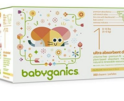 Amazon Coupon Deal: Save Extra 40% on Babyganics Ultra Absorbent Diapers, Free Shipping Eligible!