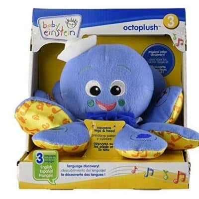 Save 51% on the Baby Einstein Octoplush, Free Shipping Eligible!