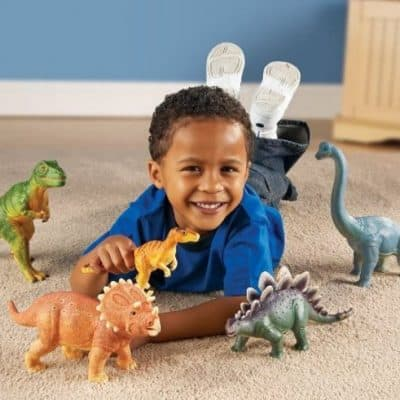 Save 52% on the Learning Resources Jumbo Dinosaurs, Free Shipping Eligible!