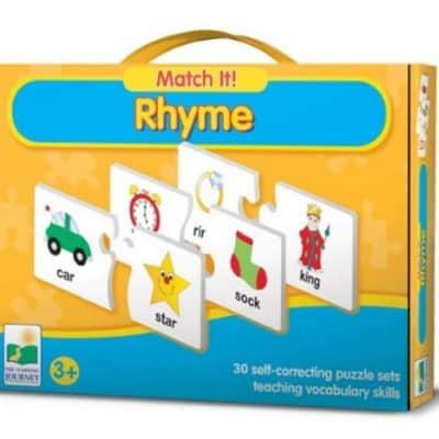 Save 34% on the The Learning Journey Match It! Rhyme, Free Shipping Eligible!