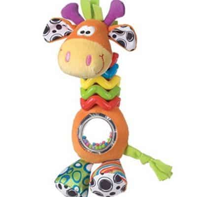 Save 69% on the My First Bead Buddy Giraffe for Baby, Free Shipping Eligible!