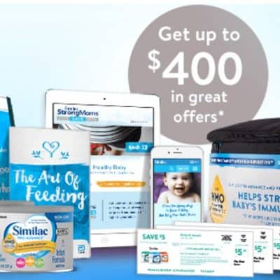 Up to $400 in Free Offers from Similac! Sign up for FREE with Similac Strong Moms Today!