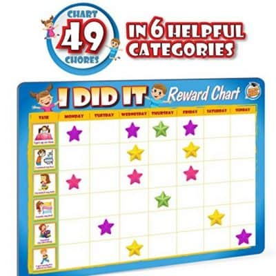 Save 50% on the Kids Reward Chores Chart, Free Shipping Eligible!