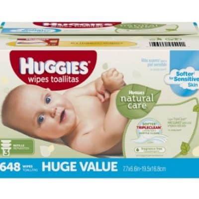 648 Huggies Natural Care Baby Wipes As Low As $9.42, Free Shipping Eligible!