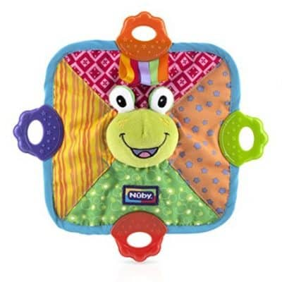Save 40% on the Nuby Teething Blankie, Free Shipping Eligible!