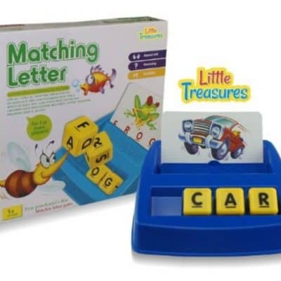 Save 64% on the Little Treasures Matching Letter Game, Free Shipping